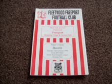 Fleetwood Freeport v Bootle, 1997/98